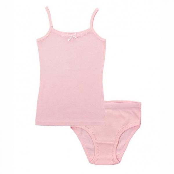 Комплект для девочки, светло-розовый, CAJ 3342