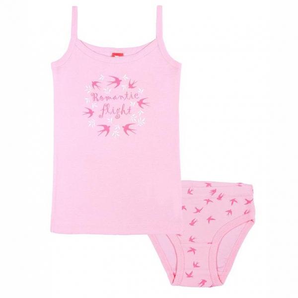 Комплект для девочки, розовый, САК 3489