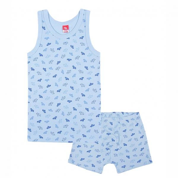 Комплект для мальчика, голубой,,  CAK 3475