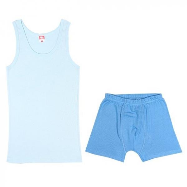 Комплект для мальчика, голубой, CAJ 3341