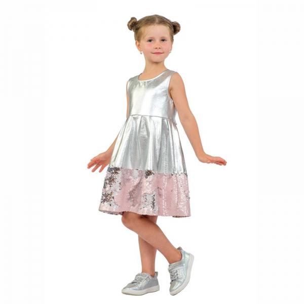 Платье для девочки, 05-90.7-02