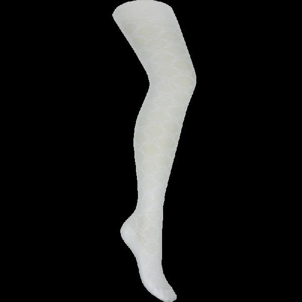 Колготки,  белый, КА-м122 аж эдельвейс