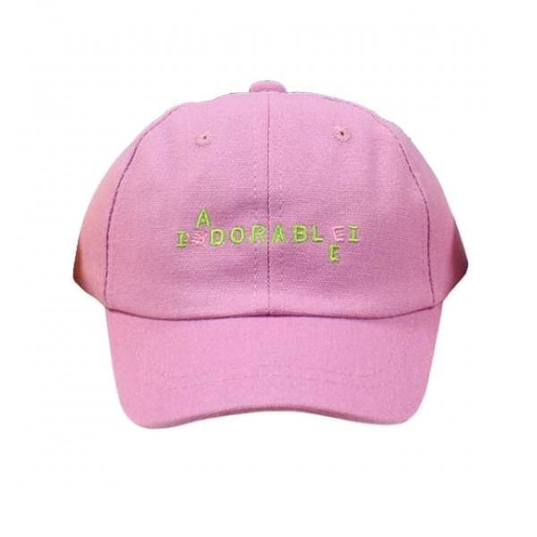 Бейсболка для девочки, розовый, АРТ.30034