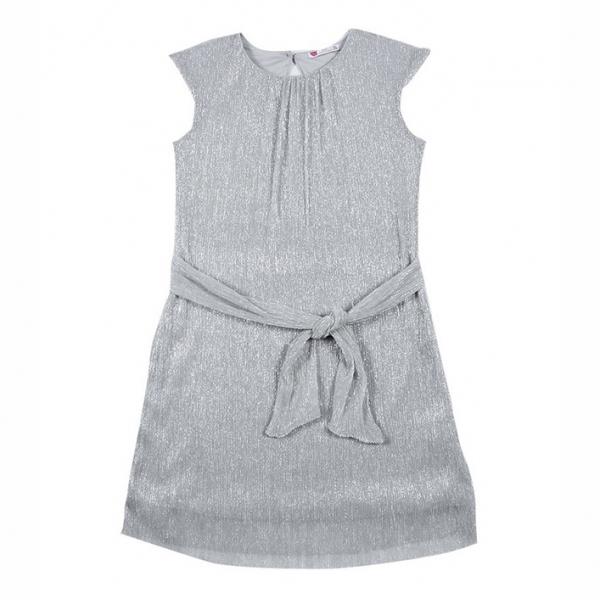 Платье для девочки, серебристый, CAJ 61955