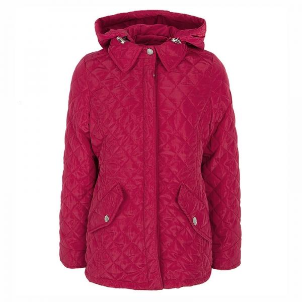 Куртка для девочки, красный, Силиция 51-17в
