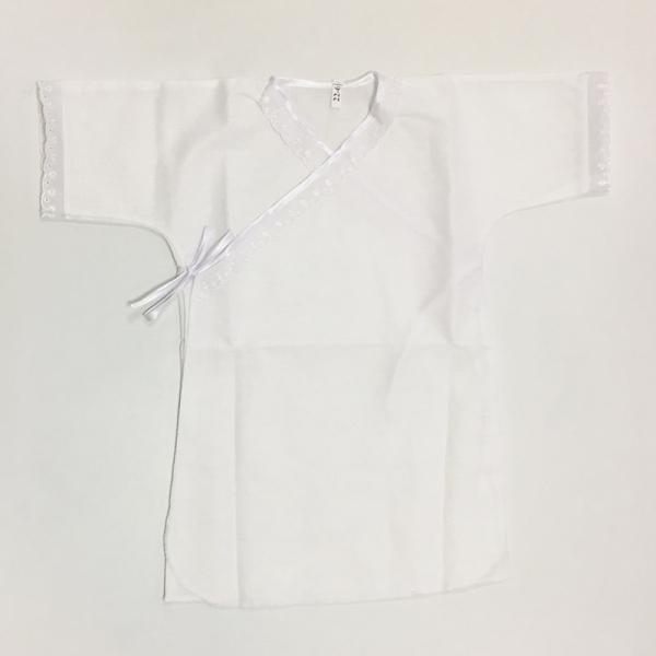 Рубашка крестильная, кружево, 7030