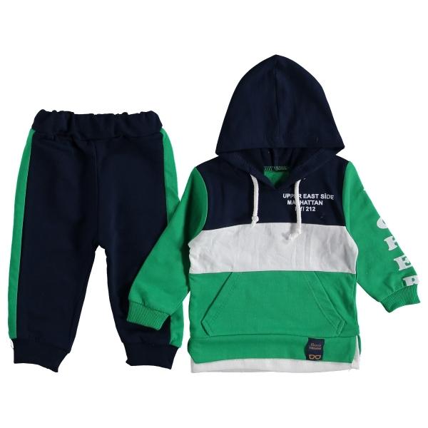 Комплект 316675-10 087, зеленый/т.синий,