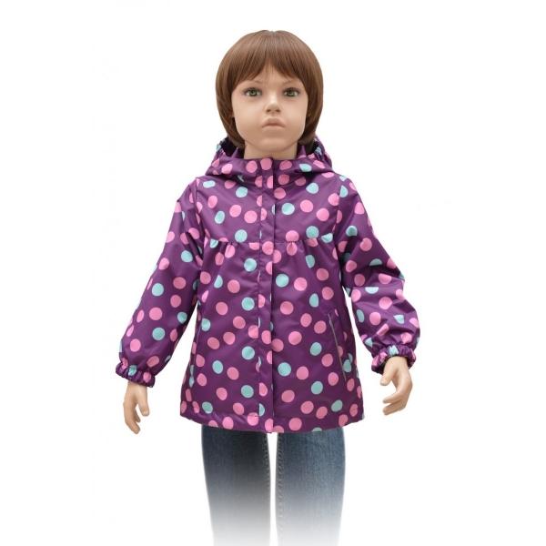 Ветровка для Девочки, фиолетовый, 58-24