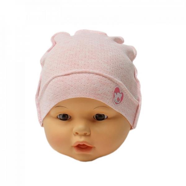 Шапка детская, розовая, Арт. 10142