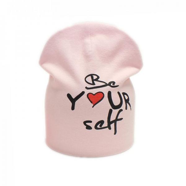 Шапка для девочки, розовая, Арт. 70173