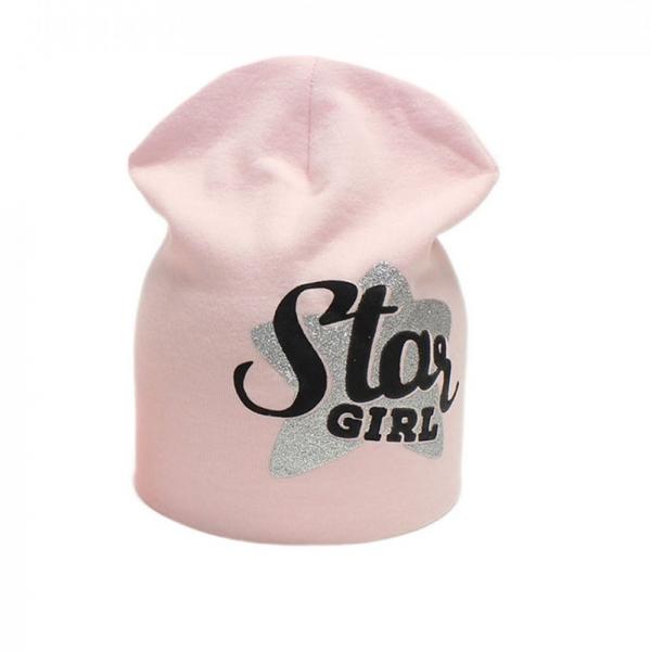 Шапка для девочки, розовая, Арт. 70176
