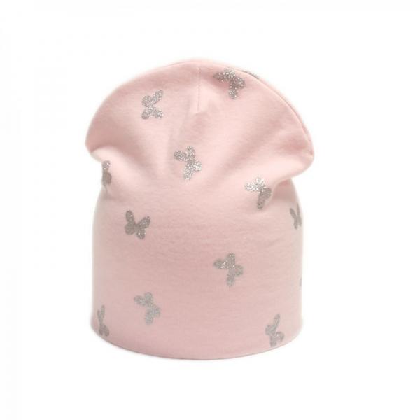 Шапка для девочки, розовая, Арт. 79131