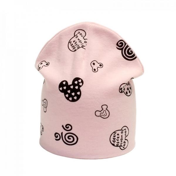 Шапка для девочки, розовая, Арт. 79133