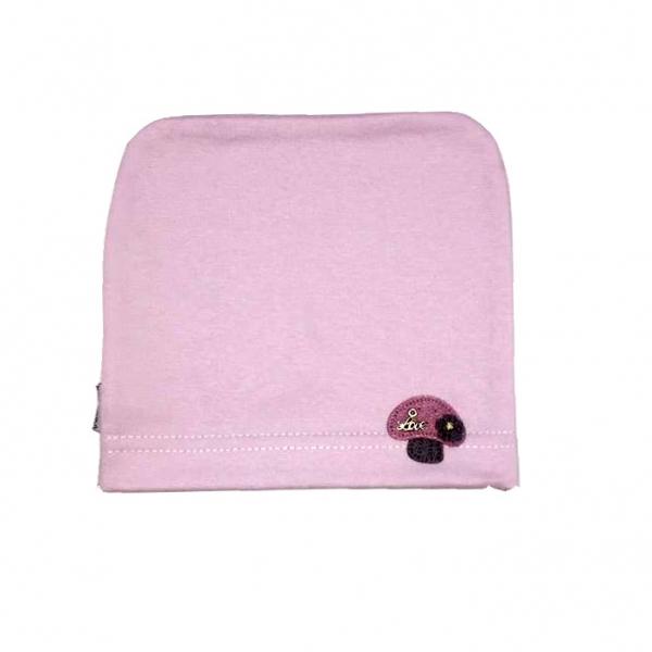 Шапка для девочки, розовая, Арт. 7917