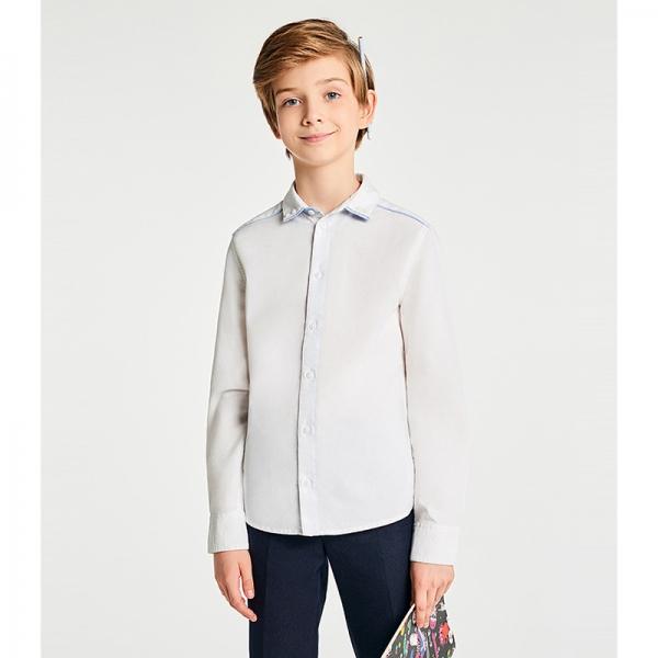 Сорочка для мальчиков, белый, 413102008 Ninum