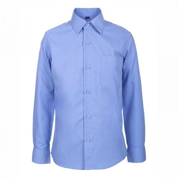 Сорочка для мальчика, т. голубой, TC23d M