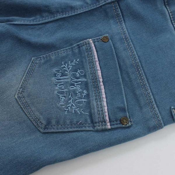 Джинсы для девочек, голубые, ТК 46089/2 ЖА
