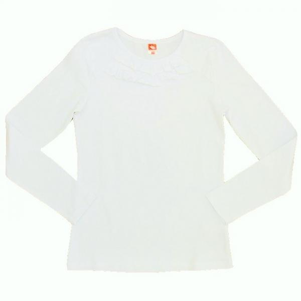 Блузка для девочки, цвет белый, CAJ 61635
