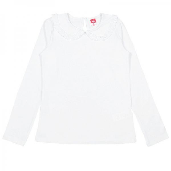 Джемпер для девочки, белый, CAJ 61914