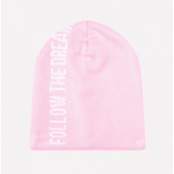 Шапка для девочки,нежно-розовый, КВ 20090
