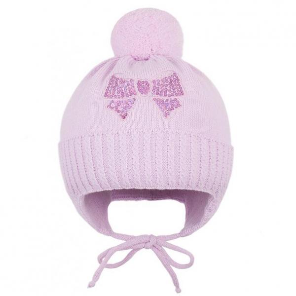 Шапка для девочки,розовый,  Cd-983