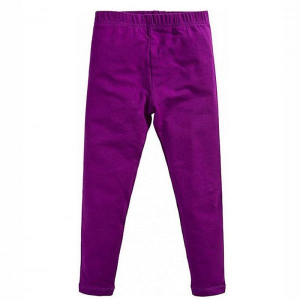 Лосины для девочки, фиолетовый, 101118