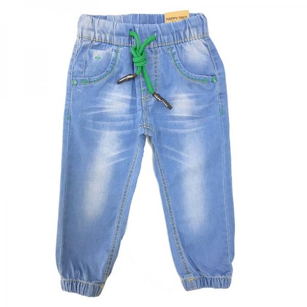 Джинсы для мальчиков, голубые, АРТ.NZB-715