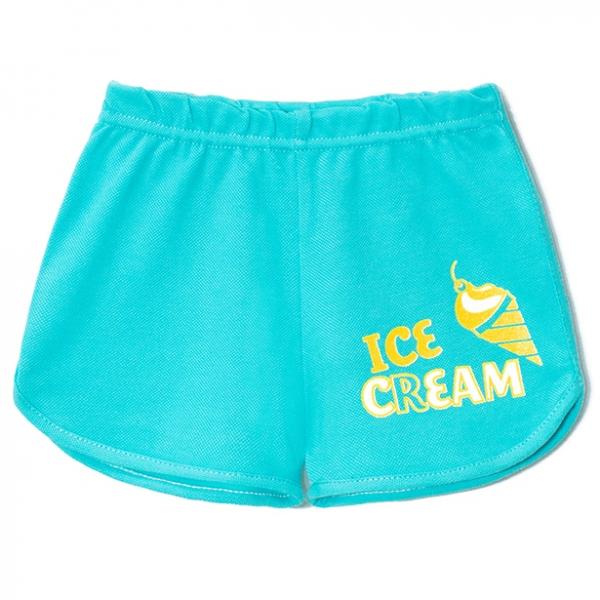Шорты детские, Мороженое (Бирюза), 2141-038