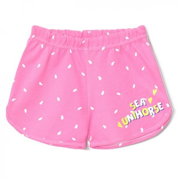 Шорты детские, Unihorse (Розовый/набивка), 2141-038