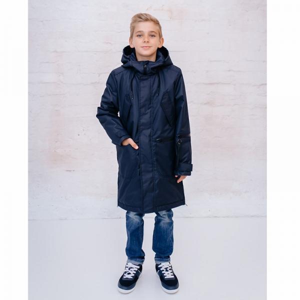 Парка для мальчика, т.синий, Драго, 234-20в-1