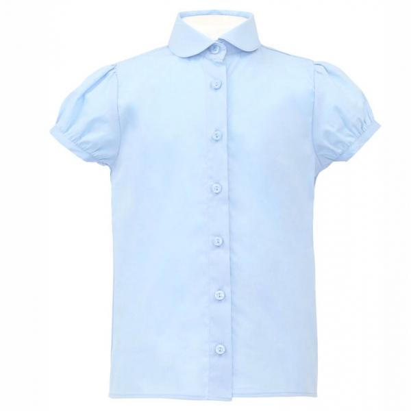 Блузка для девочки, голубой, CK 6T118