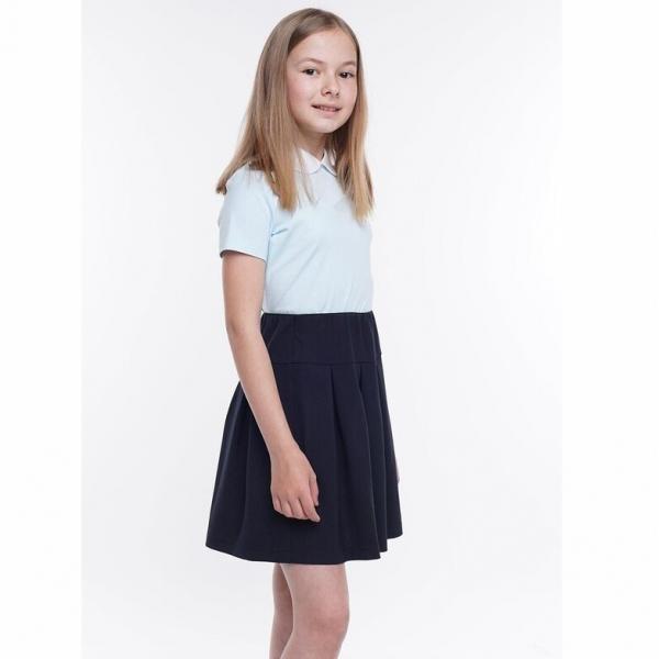 Джемпер для девочки, св.голубой, 704673г