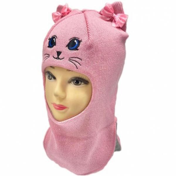 Шлем для девочки модель Алиса, розовый