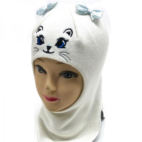 Шлем для девочки модель Алиса, белый