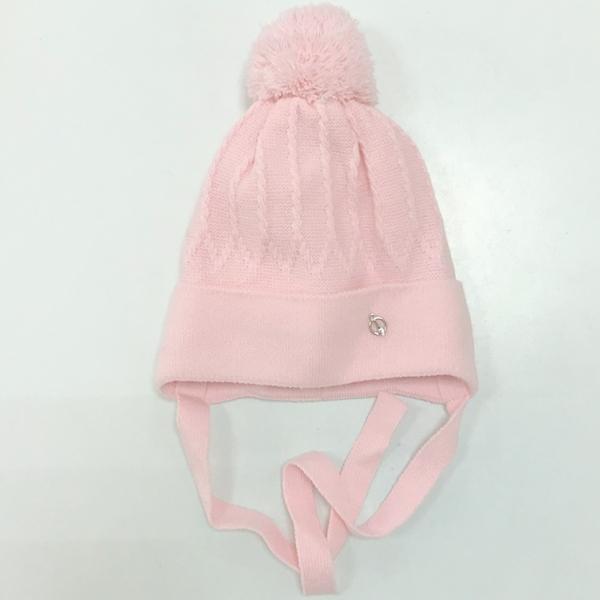 Шапка детская, розовый, Арт. 50098
