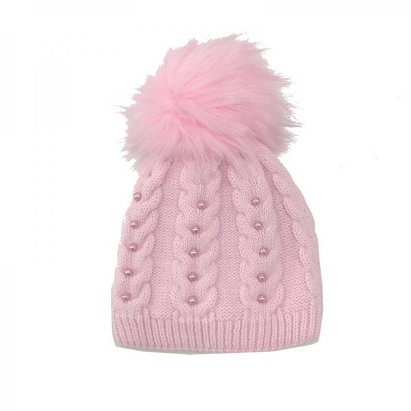Шапка детская, розовый, Арт. 50141