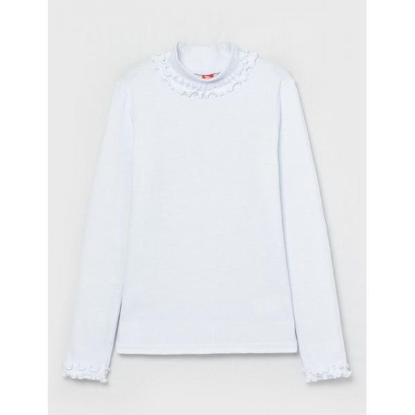Водолазка для девочки, Белый, CWJG 62772-20