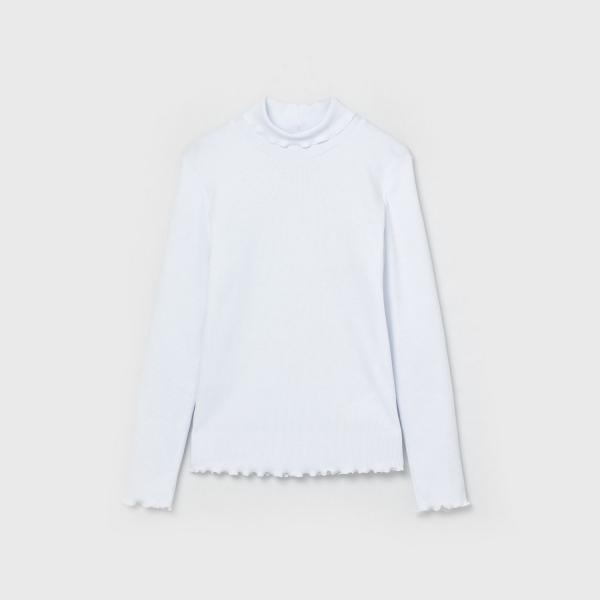 Водолазка для девочки, Белый, CWJG 62773-20
