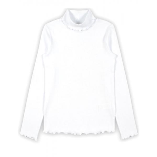 Водолазка для девочки, Белый, CWKG 62769-20