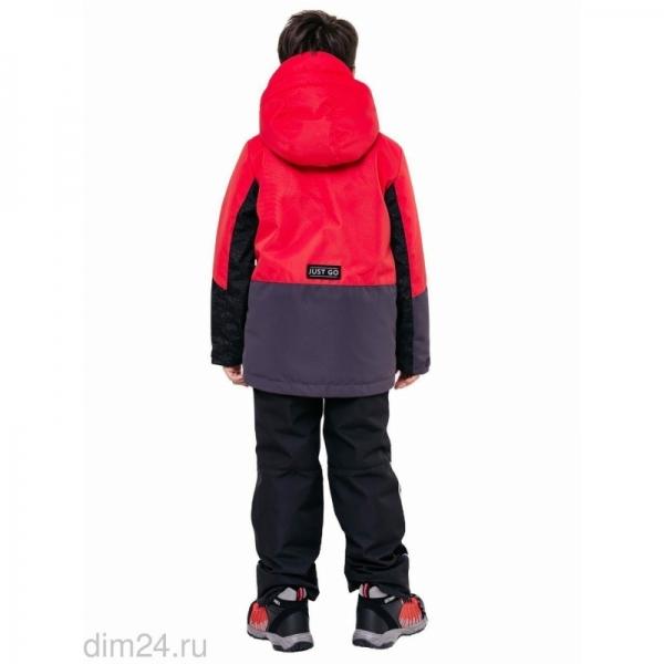 """331-21в-2 Комплект для мальчика """"Саймон"""" красный"""