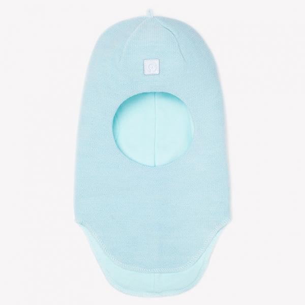 Шапка-шлем дет., светлая бирюза, КВ 20108/ш
