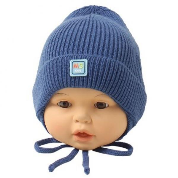 Шапка детская, т.синий, Арт.21133