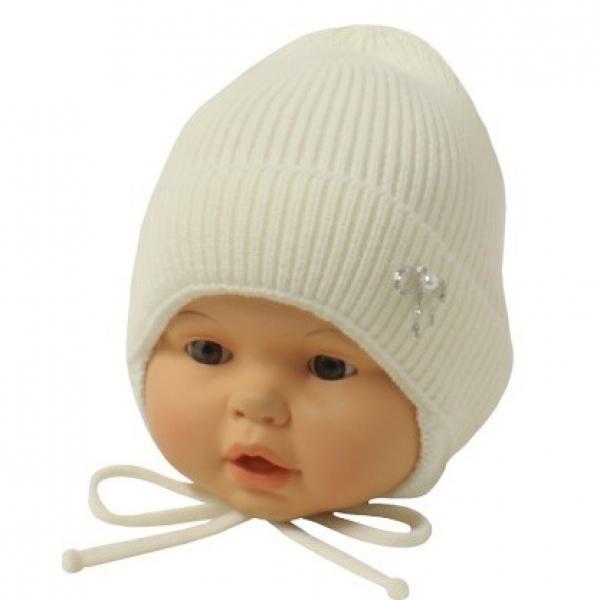 Шапка детская, белый, Арт.21134