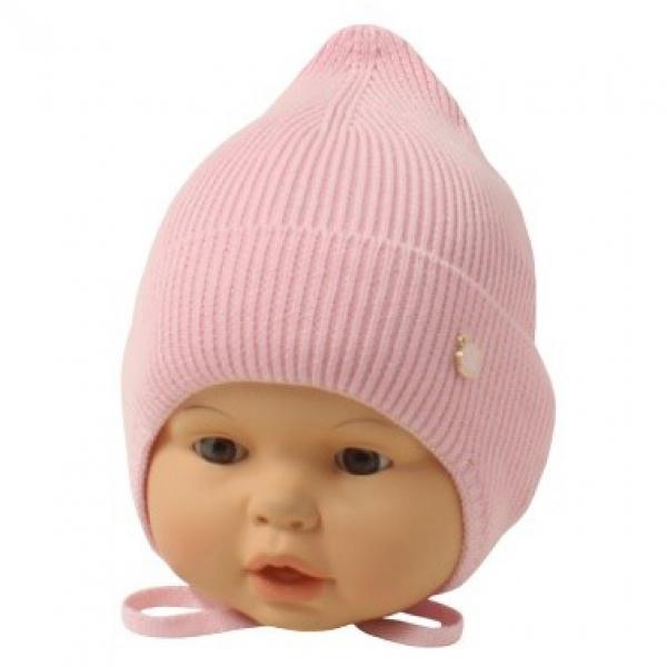 Шапка детская, розовый, Арт.21098