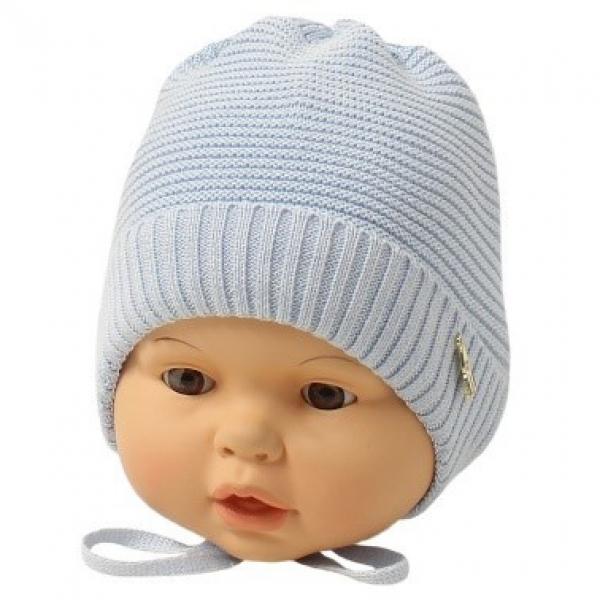 Шапка детская, голубой, Арт.21108