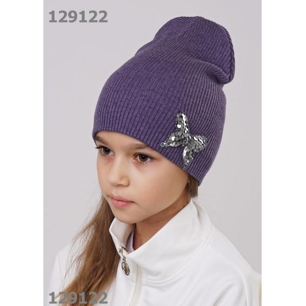 Шапка детская, т.фиолетовый, 802753ха
