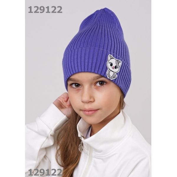 Шапка для Девочки, фиолетовый,  903096ха