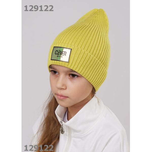 Шапка для Девочки, жёлтый,  903096ха