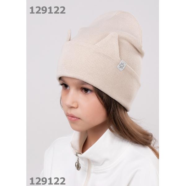 Шапка для Девочки, бежевый,  713123ха