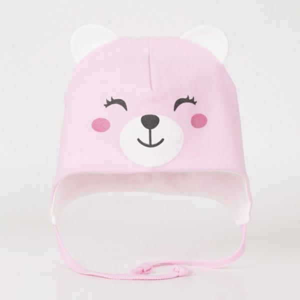 Шапка для девочки, Розовый, CSNG 80018-27